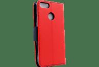 AGM 28269 Fashion Bookcover Xiaomi Mi A1 Obermaterial Kunstleder, Thermoplastisches Polyurethan Rot/Dunkelblau