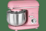 CLATRONIC KM 3711 Küchenmaschine Pink (Rührschüsselkapazität: 5 Liter, 1100 Watt)