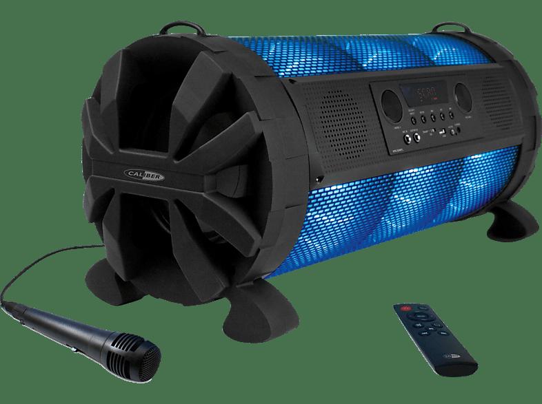 CALIBER HPG519BTL Tragbarer Bluetooth Lautsprecher, Schwarz