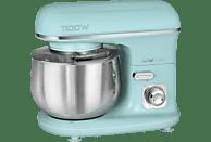 CLATRONIC KM 3711 Küchenmaschine Mint-Grün (Rührschüsselkapazität: 5 Liter, 1100 Watt)