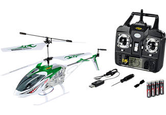 CARSON Easy Tyrann 250 2.4G 100% RTF grün RC Helikopter, Grün
