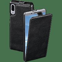 HAMA Smart Case Flip Cover Sony Xperia L3 Leder (Obermaterial) Schwarz