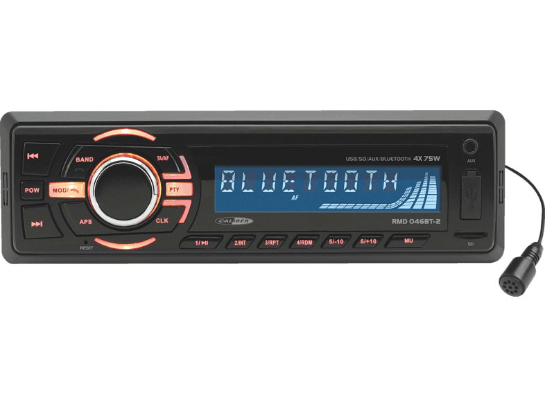 CALIBER RMD046BT Autoradio 1 DIN, 75 Watt