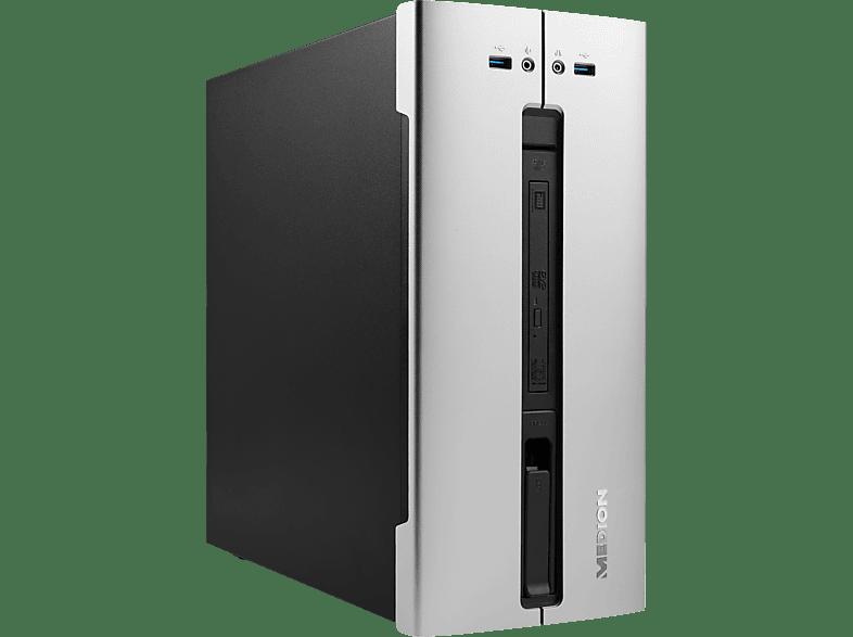 MEDION AKOYA® P66043, Desktop PC mit Core™ i5 Prozessor, 8 GB RAM, 1 TB SSD, GeForce® GTX 1050 Ti, 4 GB