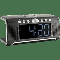 CALIBER HCG008Q Radio-Uhr, FM, FM, Schwarz
