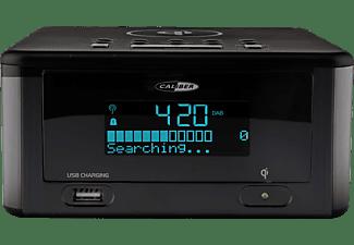 CALIBER HCG010QIDAB-BT Radio-Uhr, FM DAB+, DAB+, FM, Bluetooth, Schwarz