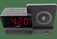 CALIBER HCG012QI-BT Radio-Uhr (FM, Schwarz)