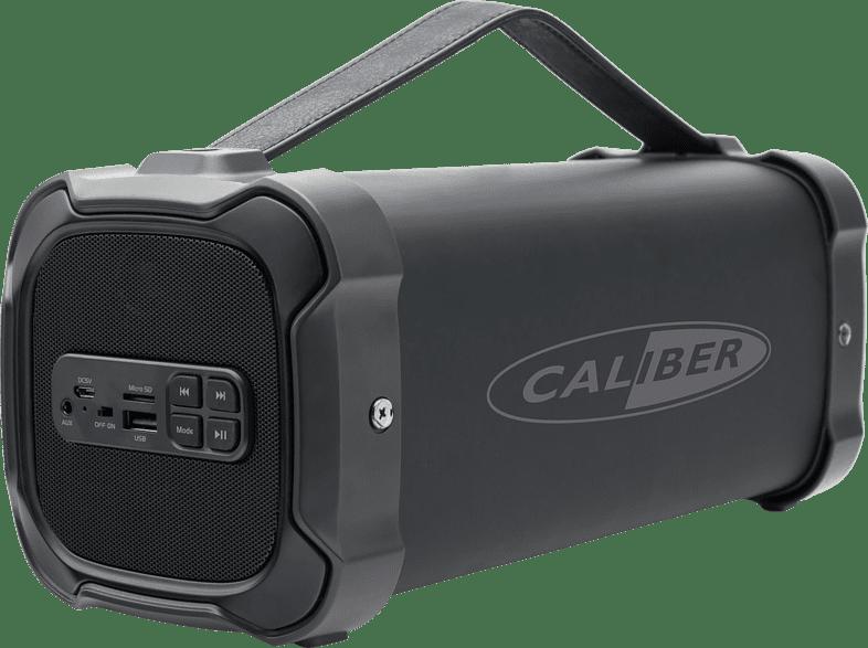 CALIBER HPG525BT Bluetooth Lautsprecher, Schwarz