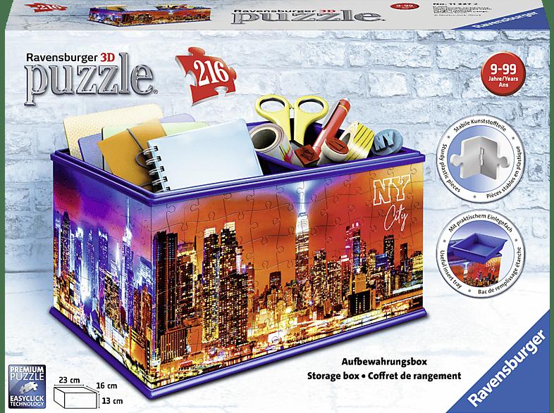 RAVENSBURGER Aufbewahrungsbox Skyline 3D Puzzle, Mehrfarbig