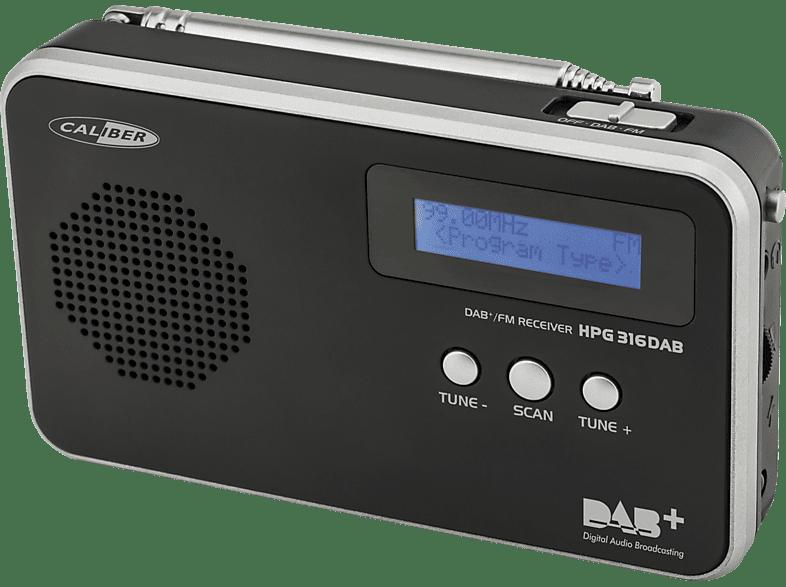 CALIBER HPG316DAB/B, DAB+ portable Radio