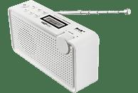 CALIBER HPG334DAB/W Portable DAB+ Radio , DAB+, FM, BluetoothNein, Weiß