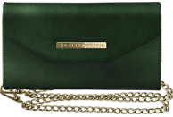 IDEAL OF SWEDEN Mayfair Clutch Velvet , Kompakttasche, Apple, iPhone 6/7/8, Grün