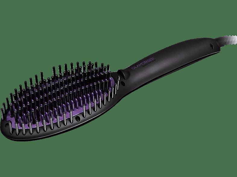 GLAMORISER GLA042 Straight & Smooth Haarglätter-Bürste ( ,Temperaturstufen: Variabel)