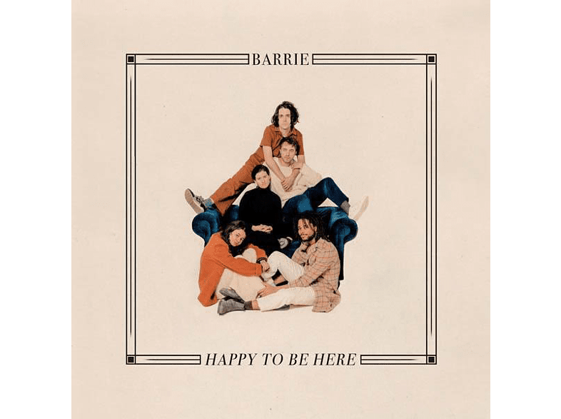 Barrie - Happy To Be Here (Ltd.Red Vinyl) [Vinyl]