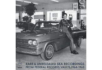 VARIOUS - Rare & Unreleased Ska Recordings From Federal Rec. - (Vinyl)