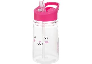 ALADDIN 34909 Zoo Kids Bunny Trinkflasche Rosa