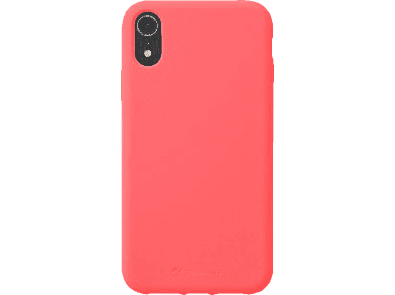 CELLULAR LINE Sensation , Backcover, Apple , iPhone Xr , Silikon, Orange