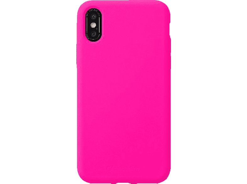 CELLULAR LINE Sensation , Backcover, Apple, iPhone XS Max, Silikon, Fuchsia