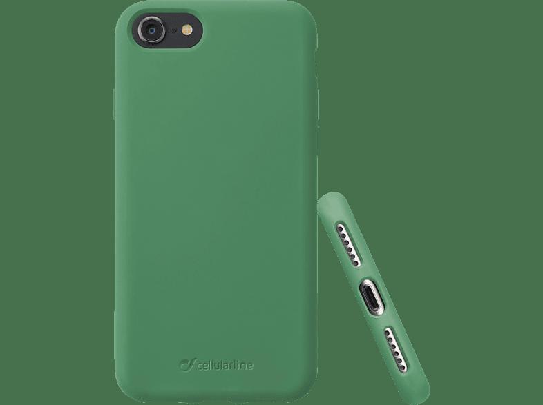 CELLULAR LINE Sensation , Backcover, Apple , iPhone 8/ iPhone 7, Silikon, Grün