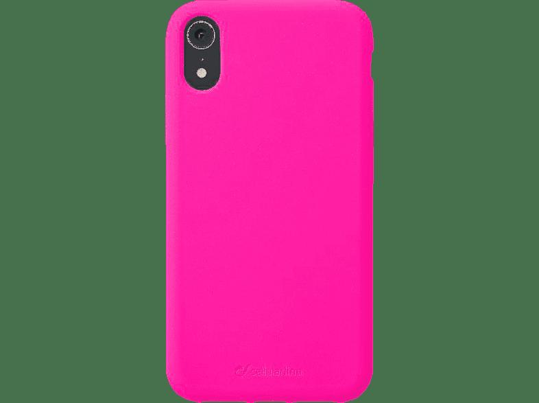 CELLULAR LINE Sensation , Backcover, Apple , iPhone Xr , Silikon, Fuchsia