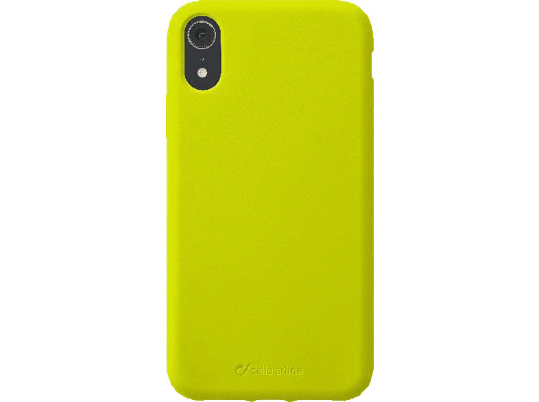 CELLULAR LINE Sensation , Backcover, Apple , iPhone Xr , Silikon, Lime