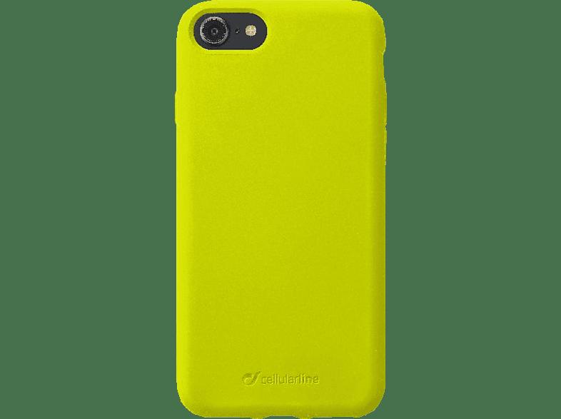 CELLULAR LINE Sensation , Backcover, Apple , iPhone 8/ iPhone 7, Silikon, Lime