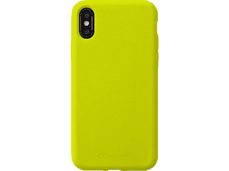 CELLULAR LINE Sensation , Backcover, Apple , iPhone Xs / iPhone X, Silikon, Lime