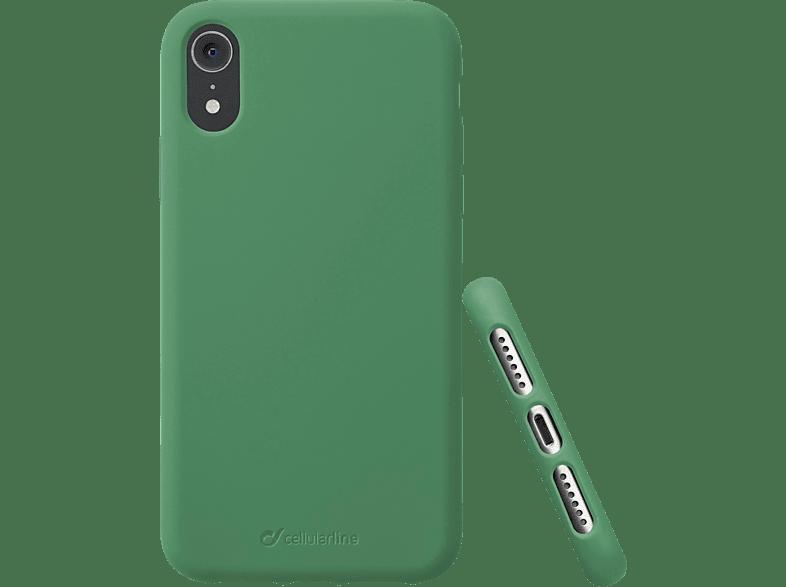 CELLULAR LINE Sensation , Backcover, Apple , iPhone Xr , Silikon, Grün