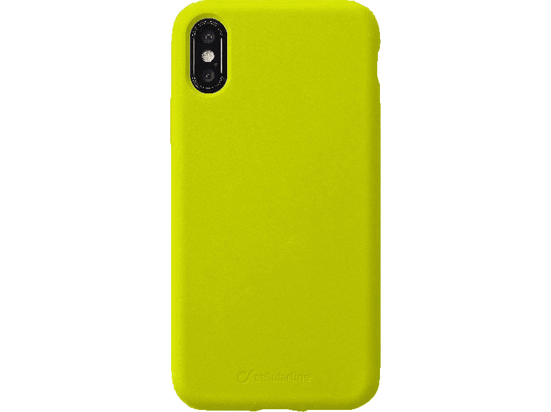 CELLULAR LINE Sensation , Backcover, Apple , iPhone Xs Max , Silikon, Lime