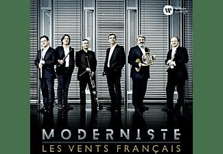 Les Vents Francais - MODERNISTE  - (CD)