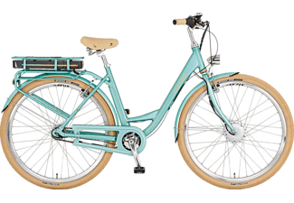 PROPHETE GENIESSER e9.1 Citybike (Laufradgröße: 28 Zoll, Rahmenhöhe: 50 cm, Damen-Rad, 493 Wh, Grün)