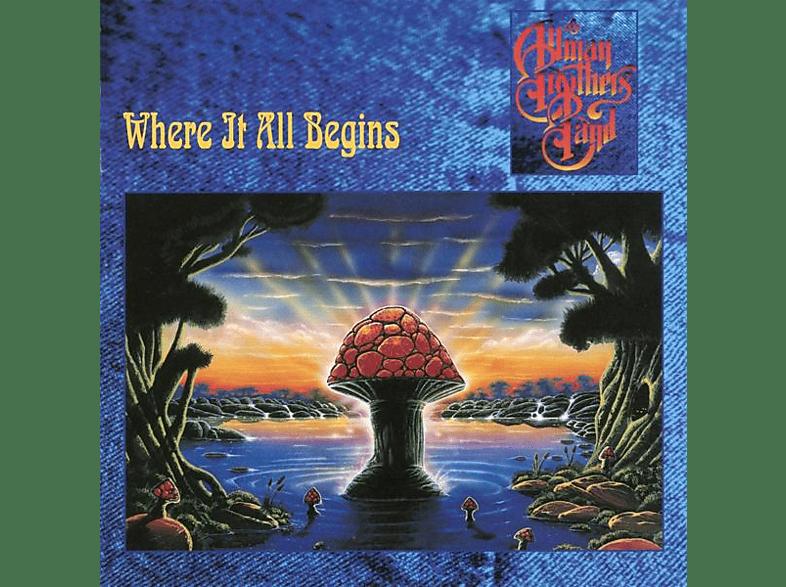 The Allman Brothers Band - Where It All Begins (ltd transparent blaues Vinyl) [Vinyl]