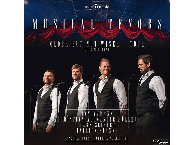 Jan Anmann, Christian Alexander Müller, Mark Seibert, Patrick Stanke - Older But Not Wiser-Tour [CD]