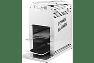 DANGRILL 88170 Power Burner Gasgrill, Weiß