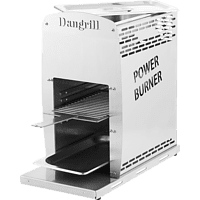 DANGRILL 88170 Power Burner Gasgrill, Weiß (4200 Watt)