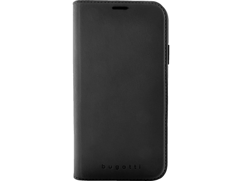 BUGATTI Parigi , Bookcover, Apple, iPhone XR, 50% TPU, 50% Echtleder, Schwarz