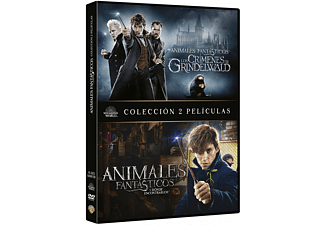 Pack Animales fantásticos (1+2) - DVD