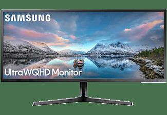 SAMSUNG Monitor S34J550 34 Zoll, schwarz (LS34J550WQUXEN)