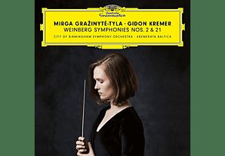 Gidon Kremer, City Of Birmingham Symphony Orchestra, Kremerata Baltica - Weinberg Sinfonien 2+21  - (CD)