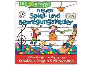 Karsten Glueck Und Die Kita Froesche, Simone Sommerland - Die 30 Besten Neuen Spiel-Und Bewegungslieder  - (CD)