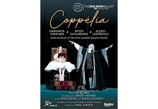 Pavel/state Academic Bolshoi Theater Sorokin - Coppélia-The Bolshoi Ballet HD Collection - (Blu-ray)