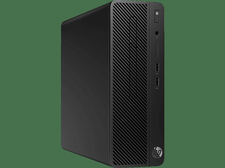 HP 290 G1, Desktop PC, Core™ i3 Prozessor, 8 GB RAM, 256 GB SSD, Intel® UHD-Grafik 630, Schwarz
