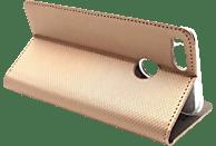 AGM 28260 Bookcover Xiaomi Mi A1 Kunstleder, Thermoplastisches Polyurethan, Kunststoff Gold