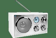 BLAUPUNKT RXN-180-WH Retro-Radio  Retro-Radio (FM;   UKW, Weiß/Silber)