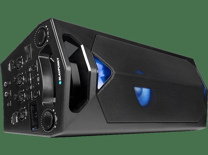 BLAUPUNKT PS-500 Party Lautsprecher Boombox Schwarz