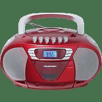 BLAUPUNKT B-110-RD Tragbarer CD-Player CD-Player Rot/Silber