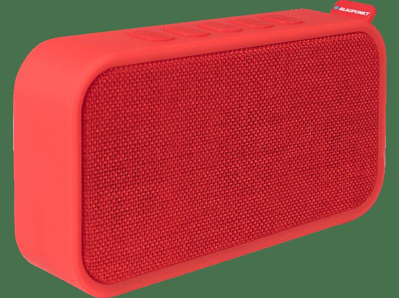 BLAUPUNKT BTR-60-RD Bluetooth Lautsprecher Bluetooth Lautsprecher, Rot