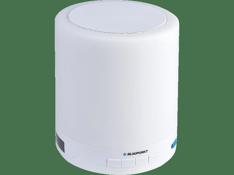 BLAUPUNKT BTL-110 UKW-Radio Bluetooth Lautsprecher, Weiß