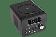 BLAUPUNKT Radiowecker, CD, Radio-Wecker (FM Tuner, PLL Tuner, Schwarz)