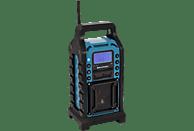 BLAUPUNKT BSR-10 Baustellenradio Baustellenradio (UKW, Schwarz/Blau)